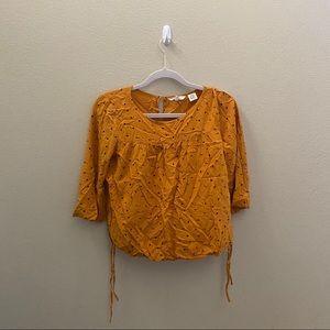Levi's Orange Long Sleeve